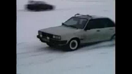 Ауди На Сняг
