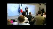 Саркози Среща Путин Леко Подпийнал