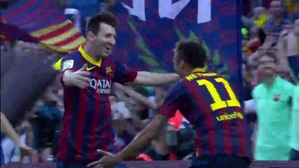 Ел Класико! Барселона - Реал Мадрид 2:1 26.10.2013