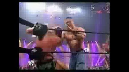 John Cena Пребива Ортан На Unforgiven 2007