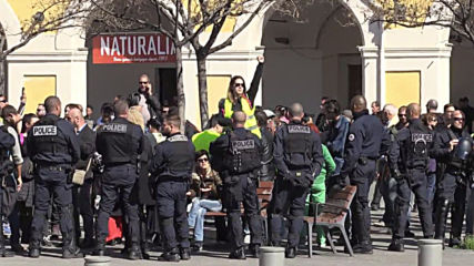 France: Arrests made as Yellow Vests rally in Nice despite demo ban