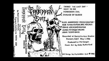 Forbidden Evil - Chalice of Blood (demo)
