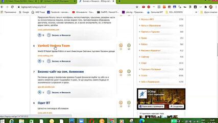 6-то Място м.Август за сайта vankog.com в категория Бизнес и Финанси