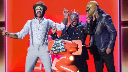 Lucha House Party en los Kid's Choice Awards Mexico 2019