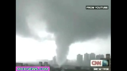 Торнадо в Тайван !