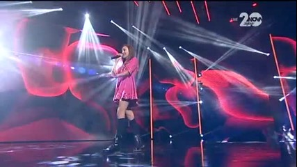 Кристина Дончева - X Factor Live (27.11.2014)