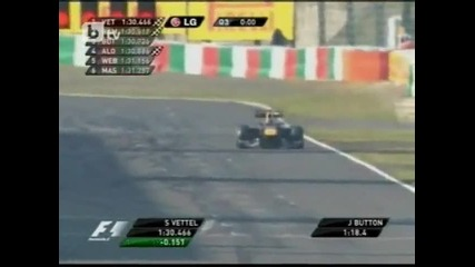 Себастиан Фетел спечели втора поредна световна титла във Формула 1