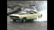Dodge Charger Burnout