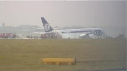 Аварийно кацане на самолет