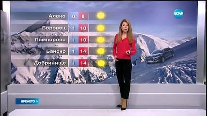 Прогноза за времето (01.02.2016 - централна)