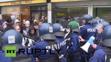Switzerland: Dozens of anti-fascists arrested in Bern