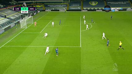 Лиидс - Арсенал 0-0 /първо полувреме/