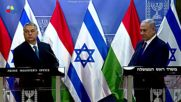 Israel: Hungarian and Israeli PM hail 'excellent ties' in Jerusalem
