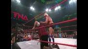 Tna Impact - Рик Флеър срещу Мик Фоли - Мач Последен Оцелял(2010)