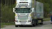 Scania V8 24 meter 60 ton Sthlm Truck Meet 2012