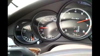 Porsche panamera Turbo Acceleration!