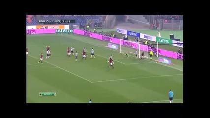 2.3.2015 Рома-ювентус 1-1 Серия А