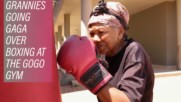 60+ only at South Africa's Gogo boxing gym