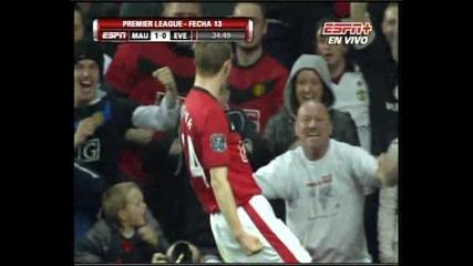 21.11 Супер Гол На Флечър! Манчестър Юнайтед - Евертън 3:0