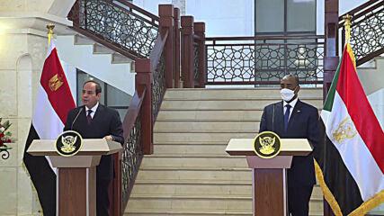 Sudan: Sisi condemns Ethiopia's decision to fill Nile dam