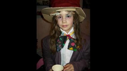 Hq* Никито като Лудия Шапкар за конкурса Алиса в страната на чудесата