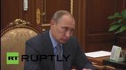 Russia: Putin meets head of the Republic of Adygea to talk socioeconomics