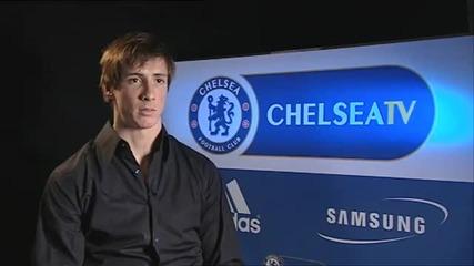 Chelsea Fc - Torres Interview