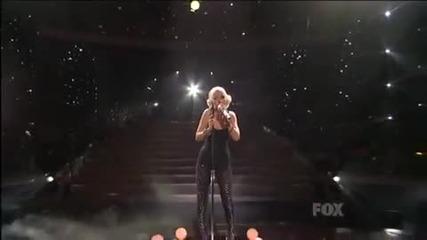 Christina Aguilera - You Lost Me Live American Idol 2010