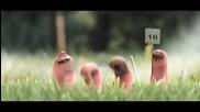Приключенията на малките червейчета ( анимация )