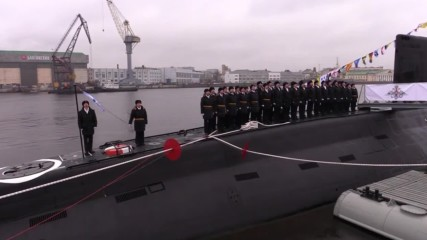 Russia: Super-stealth Kolpino submarine arrives for deployment to Black Sea