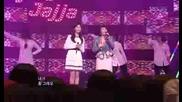 Ju Hyun Mi & Seohyun (of Snsd) - Jjalajajja [inkigayo 090301]
