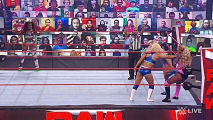 Naomi & Lana vs. Mandy Rose & Dana Brooke: Raw, Feb. 22, 2021