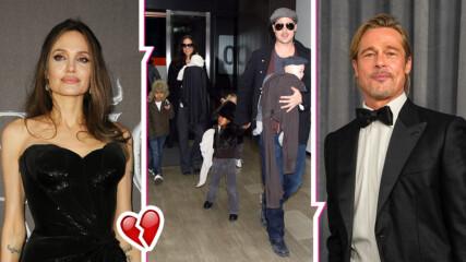 Съдът даде съвместно попечителство на Анджелина Джоли и Брат Пит! Актрисата е бясна