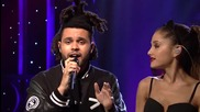 Ariana Grande - Love Me Harder ( Live On Snl ) ft. The Weeknd