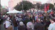 Spain: 'No to NATO!' - Barcelona activists protest military alliance