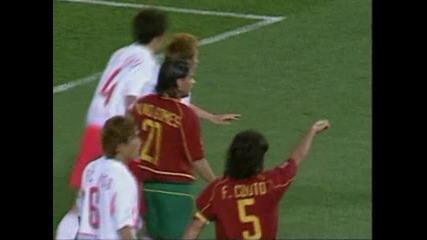 Португалия-южна Корея 0-1 2002 world cup