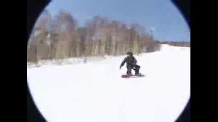 нинджа на сноуборд