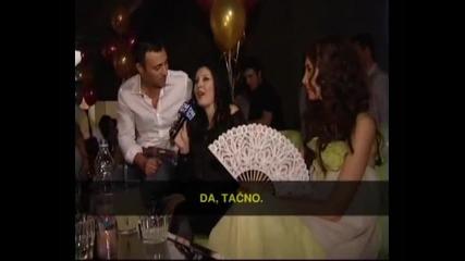 Dragana Mirkovic, Mustafa Sandal, Emina Jahovic - Intervju - (TV DmSat)