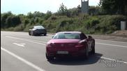Mercedes Sls Amg, Ferrari 458 Italia, Nissan Gt - R и Porshe