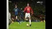 Манчестър Юнайтед 2 - 0 Интер