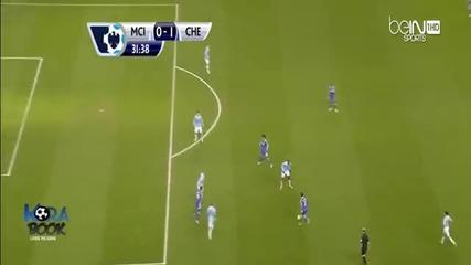 Фантастичният гол на Иванович срещу Манчестър Сити