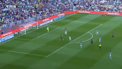 Барса с нова голяма крачка към титлата! 09.05.2015 Барселона - Реал Сосиедад 2:0
