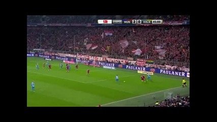 27.2.2015 Байерн Мюнхен-кьолн 4-1 Бундеслига