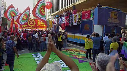 Brazil: Protesters flood Sao Paulo demanding Bolsonaro's impeachment