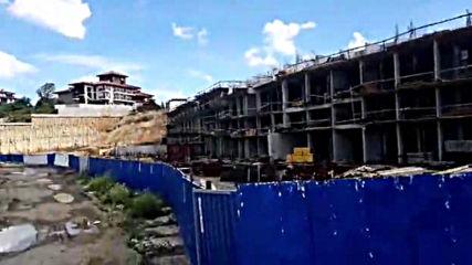 На шофьорския плаж Алепу се строи Осем етажен хотел на пясъка