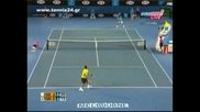 Australian Open 2010 : Федерер - Цонга