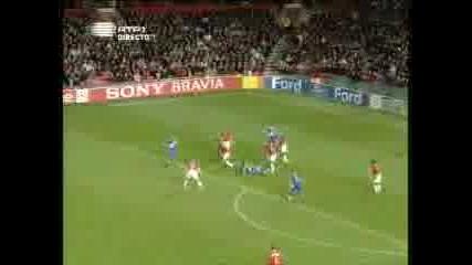 Manchester Utd Vs Dynamo Kiev 7.11.07