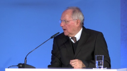Germany: FinMin Schauble touts 'worldwide' benefits of TTIP