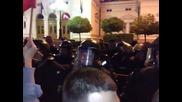 Кадри от протестите 10. 11. 2013 част втора