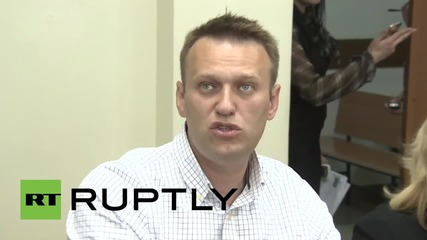 Russia: Navalny faces up to five years in jail over alleged probation violation